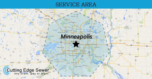 Cutting Edge Sewer & Drain LLC - Our Service Areas